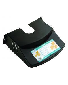 DS500 GUTTER LEAF GUARD BLACK