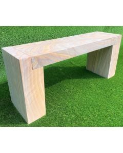 NATURAL STONE BENCH RAINBOW