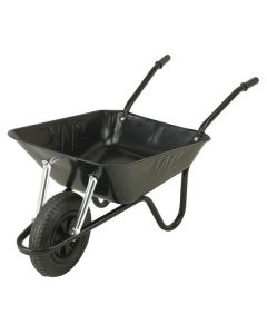WALSALL WHEELBARROW 85L EASILOAD BLACK