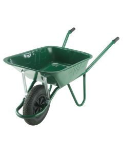 WALSALL WHEELBARROW 90L ENDURANCE GREEN HEAVY-DUTY