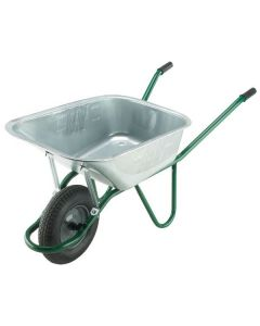 WALSALL WHEELBARROW 120L INVINCIBLE GALV HEAVY-DUTY