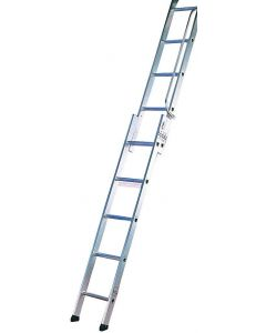 LYTE 2 SECTION EASILOFT ALUMINIUM LADDER 2.67M