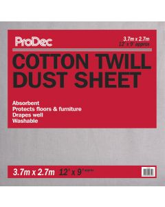RODO TRADEMAN 12' X 9' COTTON DUST SHEET