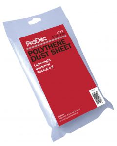 RODO PRODEC 12' x 9' POLYTHENE DUST SHEET