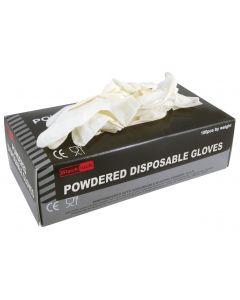 RODO DISPOSABLE LATEX GLOVES BOX 100