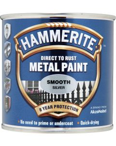 HAMMERITE METAL PAINT SMOOTH 750ML SILVER