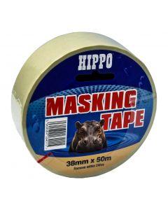 TEMBE HIPPO MASKING TAPE BEIGE 38X50M