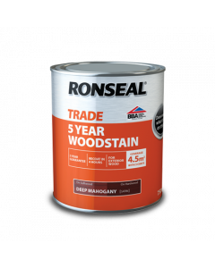 RONSEAL TRADE EXTERIOR 5YR WOODSTAIN 750ML