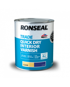 RONSEAL TRADE INT Q/DRYING VARNISH CLEAR 2.5L