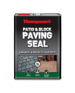 THOMPSONS PATIO & BLOCK PAVING SEAL 5L WET LOOK