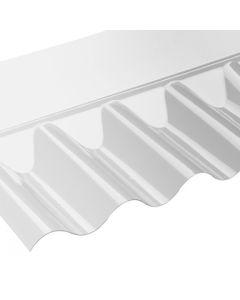 "3"" WALL FLASHINGS CLEAR PVC 695MM VISTALUX"