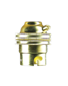 SPARKPAK BRASS BC UNSWITCHED LAMPHOLDER