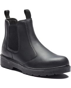 DICKIES FA23345 DEALER SAFETY BOOT BLACK