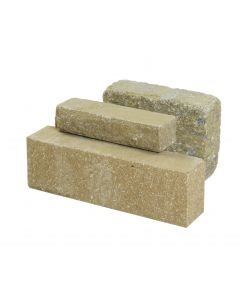 STONEMARKET CARLUKE RUMBLED WALLING BUFF 300 X 140 X 100MM
