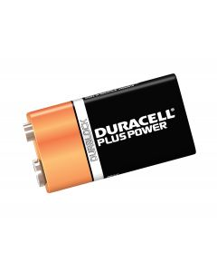 DURACELL TWIN PACK OF 9V BATTERIES