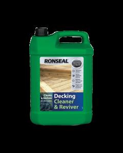 RONSEAL 35903 DECKING CLEANER & REVIVER 5L