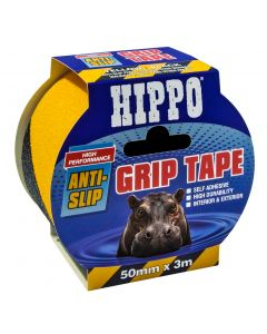TEMBE HIPPO ANTI-SLIP GRIP TAPE 50MMX3MTR YELLOW/BLACK