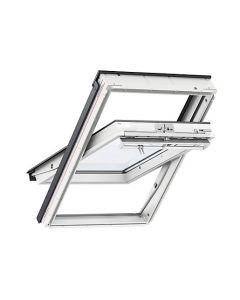 VELUX GGU 0070 WHITE PVC CENTRE PIVOT WINDOW