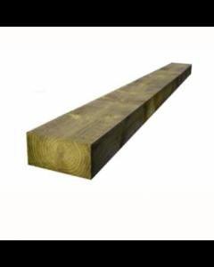 GREEN TREATED S/WOOD SLEEPER 100 X 200 X 2400MM