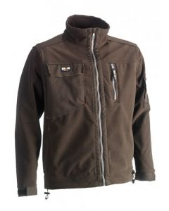 HEROCK ZEUS FLEECE JACKET BROWN XL