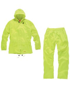 SCRUFFS 2 PC WATERPROOF SUIT YELLOW
