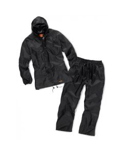 SCRUFFS 2 PC WATERPROOF SUIT BLACK