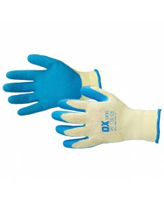 OX PRO LATEX GRIP GLOVES L