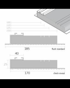 DACATIE 100-150MM CAVITY CLOSER 2.4MTR
