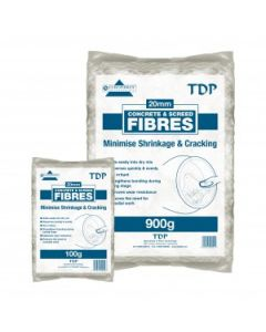 TDP CONCRETE & SCREED FIBRES 100GRAM BAG