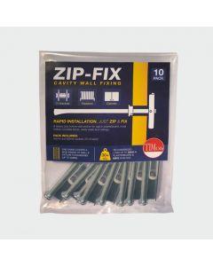 TIMCO ZIP-FIX PLASTERBOARD FIXING M6 (PK 10)