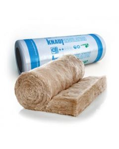 KNAUF 150MM LOFT ROLL 44 GLASS MINERAL WOOL