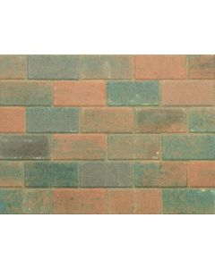 STONEMARKET PAVEDRIVE PAVERS BURNT OCHRE 50MM