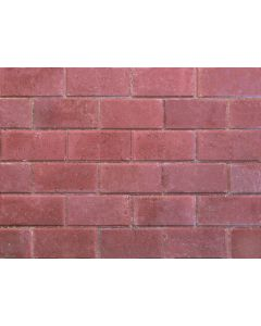STONEMARKET PAVEDRIVE PAVERS RED 50MM