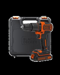BLACK & DECKER 2 GEAR HAMMER DRILL 18V 1 X 1.5AH LI-ION