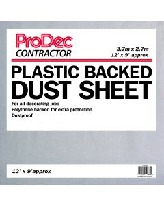 RODO 12' X 9' POLY BACK COTTON TWILL DUST SHEET
