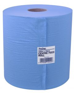RODO ROLL BLUE CENTRE FEED TOWEL 150m