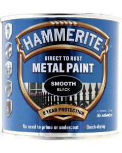 HAMMERITE METAL PAINT SMOOTH 750ML BLACK