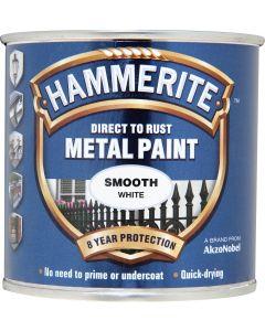 HAMMERITE METAL PAINT SMOOTH 750ML WHITE