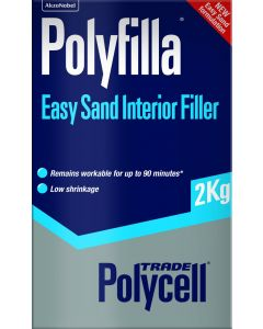 POLYCELL EASY SAND INTERIOR POLYFILLA 2KG
