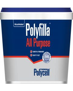 POLYCELL ALL PURPOSE POLYFILLA R/MIX 1KG