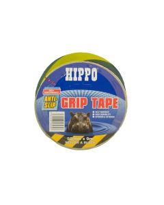 TEMBE HIPPO ANTI-SLIP GRIP TAPE 50MMX9MTR YELLOW/BLACK