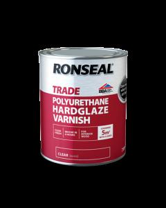 RONSEAL TRADE INTERIOR POLYURETHANE HARDGLAZE VARNISH 750ML