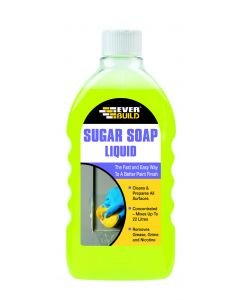 EVERBUILD SUGAR SOAP LIQUID 500ML