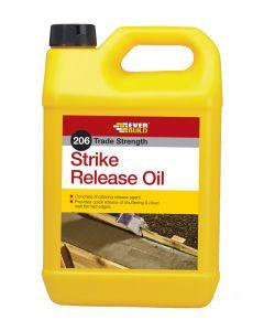 EVERBUILD 206 STRIKE RELEASE OIL 5LTR