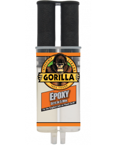 GORILLA 2-PART EPOXY SYRINGE 25ML 5 MIN