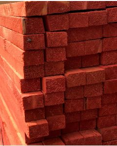 25 X 38MM JOHN BRASH RED BATTEN FULLY GRADED BS5534