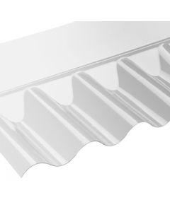 "3"" WALL FLASHINGS CLEAR PVC 695MM VISTALUX"