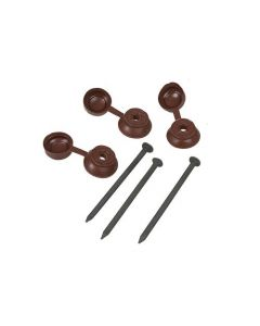 RED COROLINE FIXINGS FOR ROOFING SHEETS