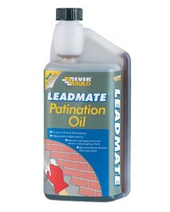 EVERBUILD PATINATION OIL LEAD MATE 500ML