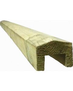 50 X 50MM TREATED FEATHEREDGE CAPPING REBATE 1.8M